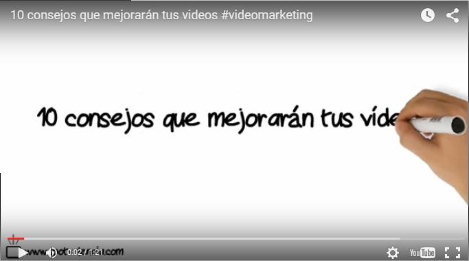 consejos videomarketing