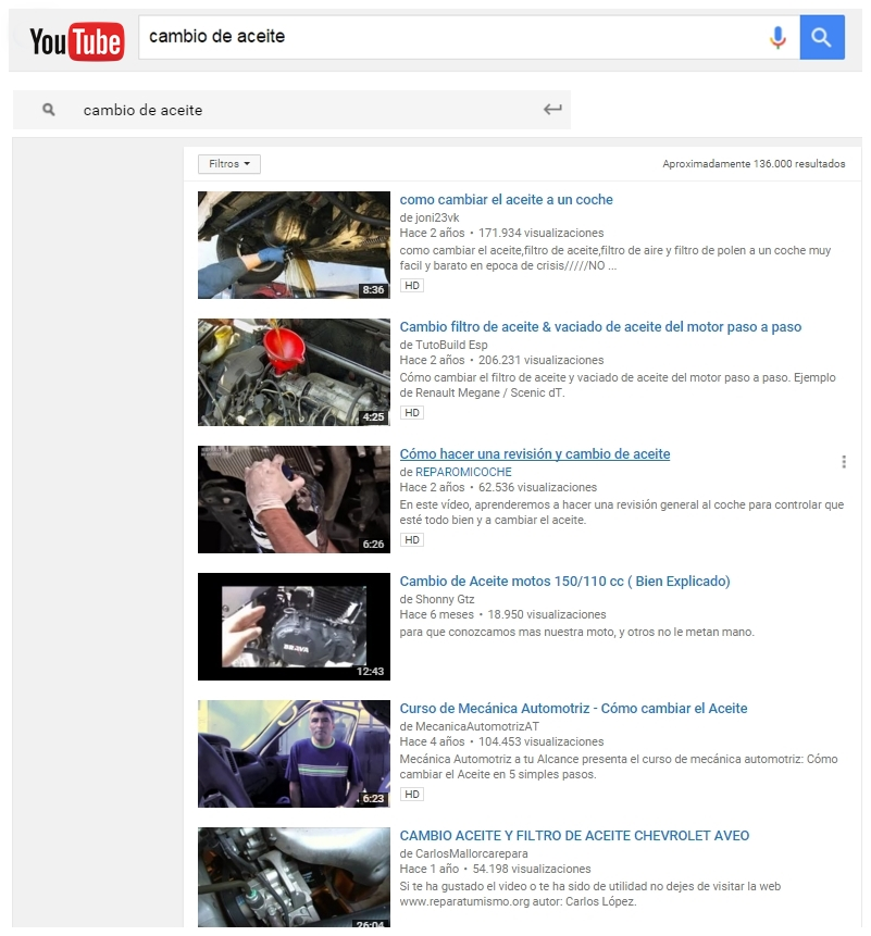 videokeywords en youtube