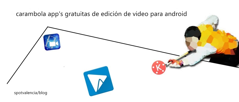 Carambola! app's gratis edición de video en android
