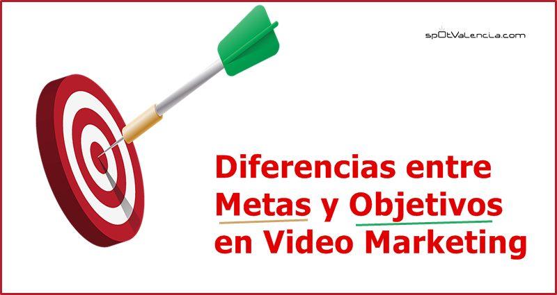 diferencias entre metas y objetivos en video marketing