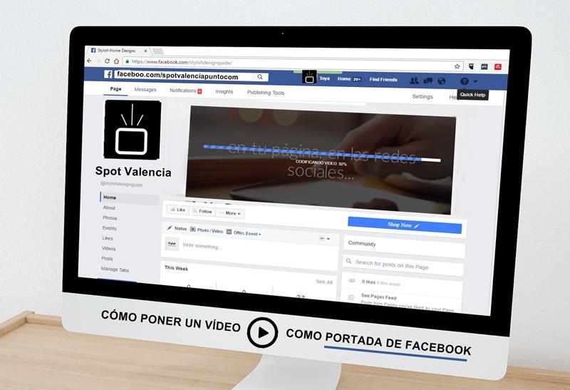 Cómo poner un video de portada en Facebook