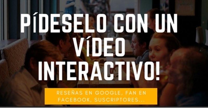 conseguir reseñas positivas google con un videos interactivos